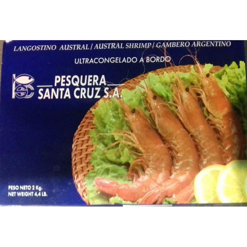 Precio Gambón Argentino congelado caja 2 Kg