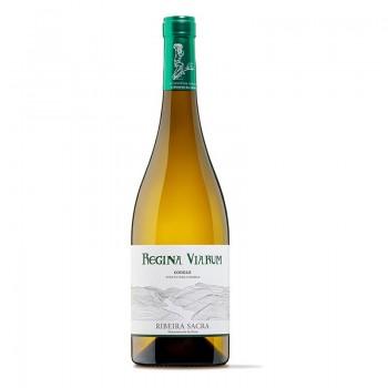 Botella de vino Regina...